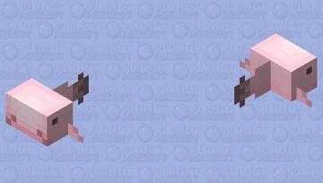 Blob Fish Minecraft Mob Skin