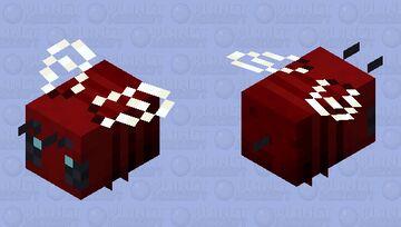Nether Wart Bee Minecraft Mob Skin