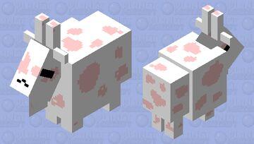 Strawberry Goat Minecraft Mob Skin