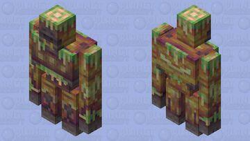 The Messy Gigantopithecus Minecraft Mob Skin