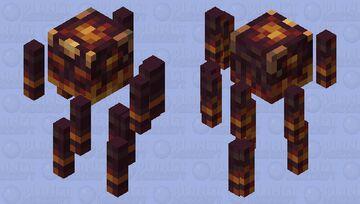 Inferno Blaze Minecraft Mob Skin