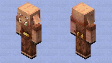 Smart Piglin Minecraft Mob Skin