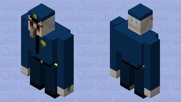 Officer Golem-Hat Minecraft Mob Skin