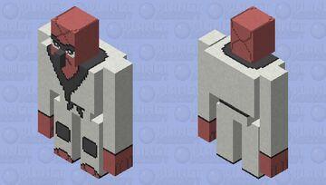 Throh - Pokemon Iron Golem Replacer Minecraft Mob Skin