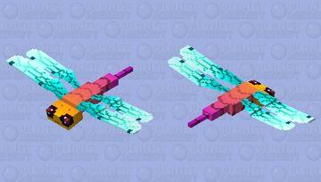 Prehistoric dragonfly-2- Minecraft Mob Skin
