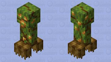 Glowberry Creeper Minecraft Mob Skin