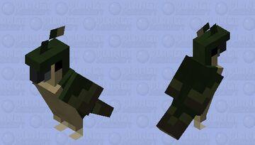 Puritist Parrot Minecraft Mob Skin