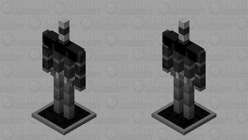 Dark Armor Stand Minecraft Mob Skin