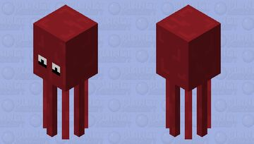 Octopus Minecraft Mob Skin
