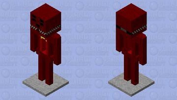 armor stand redbear Minecraft Mob Skin