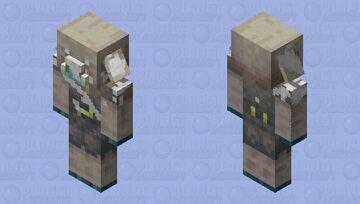 Frozen piglin fossil Minecraft Mob Skin