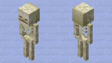 Bone block like skeleton Minecraft Mob Skin