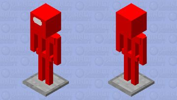 among us armor stand Minecraft Mob Skin