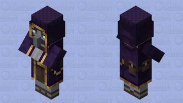 Wandering Trader Illager / re-texturing Minecraft Mob Skin