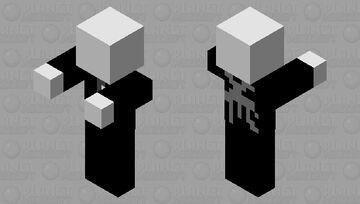 Slenderman (Part of the minecraft with edits mod) Minecraft Mob Skin