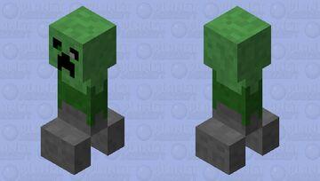 Golem Zombie Creeper Minecraft Mob Skin