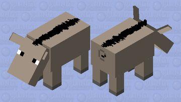 Entelodont Minecraft Mob Skin