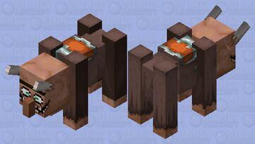 Villager Ravager poison / updated skin Minecraft Mob Skin