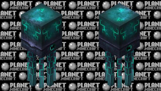Deep-Sea Glowsquid Minecraft Skin