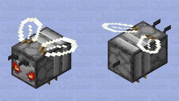 Redstone bee, AKA Redsting Minecraft Mob Skin