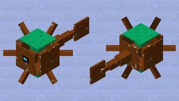 Earthy Guardian Minecraft Mob Skin