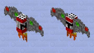 fliing TNT Minecraft Mob Skin