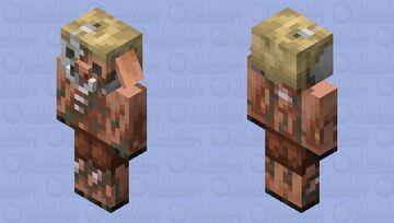 Piglin Husk Minecraft Mob Skin