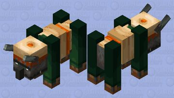 Desert Ravager (Fixed) (Credits By Astro_Cat) Minecraft Mob Skin