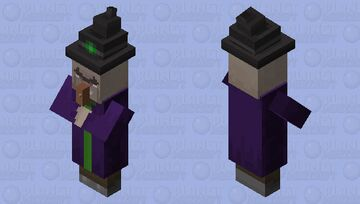 Witch [BlueshLeaf Ver] Minecraft Mob Skin