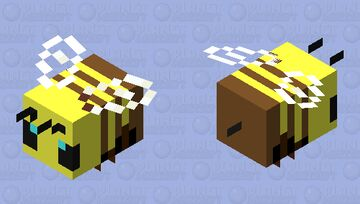 Low-Effort Bee Minecraft Mob Skin