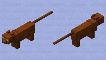 Brown cat lol Minecraft Mob Skin