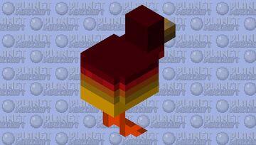 KFC (nether chicken) Minecraft Mob Skin