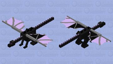Purple Ender Dragon Minecraft Mob Skin