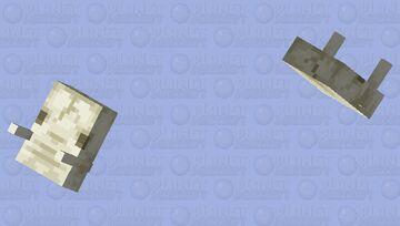 Hoglin skull / from nether wastes Minecraft Mob Skin
