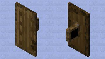 100% wooden shield Minecraft Mob Skin