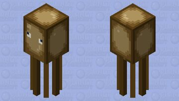 Swamp squid (event entery) Minecraft Mob Skin