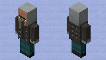Scouting vindicator from Villager vs Pillager Life Minecraft Mob Skin