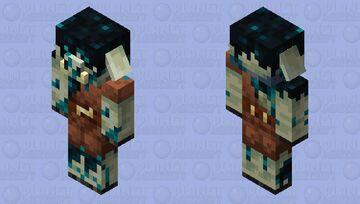 Piglin Sculk Minecraft Mob Skin