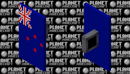New Zealand shield Minecraft Skin
