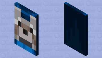 Cape wolf Minecraft Mob Skin