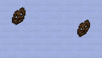 yo is that a floating pretzel Minecraft Mob Skin