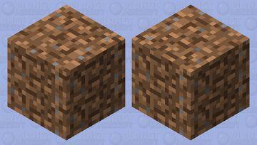 just a dirt block ;) Minecraft Mob Skin