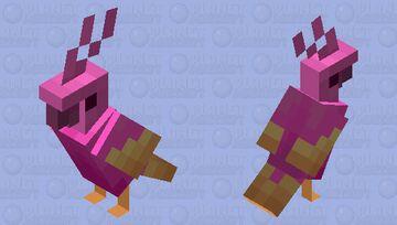 Lush Parrot (Bird of Paradise) Minecraft Mob Skin