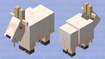 White Goat- Breath of the Wild Goat Minecraft Mob Skin