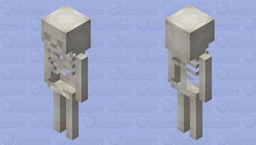 Jellatin - Skeleton Minecraft Mob Skin