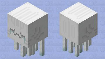 Jellatin - Ghast Minecraft Mob Skin