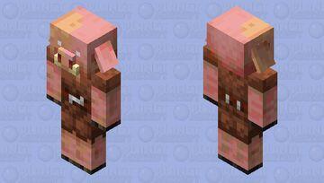 Revived Piglin Minecraft Mob Skin