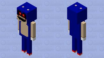 Sonic.exe (creepypasta) Minecraft Mob Skin