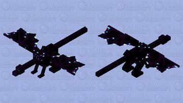 Void dragon Minecraft Mob Skin