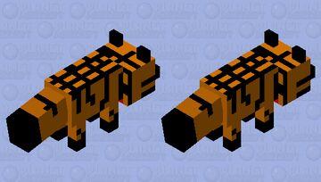 remack golden hunter fox Minecraft Mob Skin